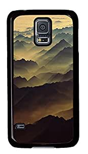 for sale Samsung S5 covers Swiss Alps PC Black Custom Samsung Galaxy S5 Case Cover
