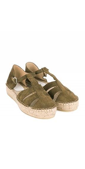 cd4c98cd4 Pera LIMONERA Alpargatas Cangrejeras Plateadas  Amazon.es  Zapatos y  complementos