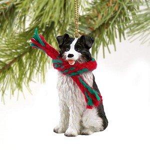 Border Collie Miniature Dog Ornament