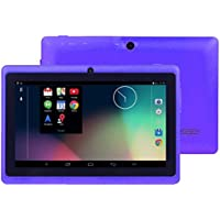 Tablet PC, 7 Tablet Android 4.4 Quad Core HD 1080x720, Dual Camera Bluetooth WI-Fi, 8GB 3D Game Supported