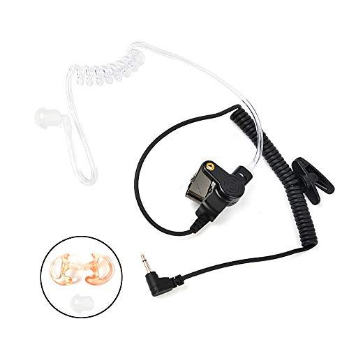 [해외]HYS 2.5 mm 수신청취만 감시 헤드셋 이어폰 음향 튜브 식 수신기송수신 기스피커 마이크 예비 이어폰 고무 및 M 크기이 어 몰드를 갖춘 / Hys 2.5 mm receptionlistening only surveillance headset earphone Acoustic tube Receivertransceiverspea...