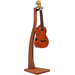 So There Wooden Ukulele Stand - Best Handcrafted Solid Mahogany Wood Floor Stands for Ukulels & Mandolins, Made in USA by So There