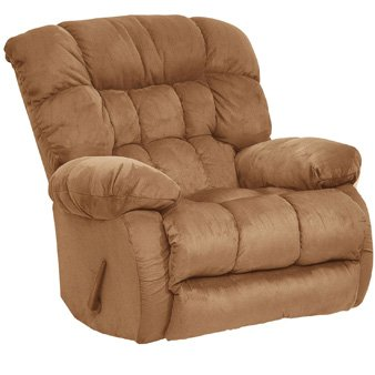 Catnapper Teddy Bear Chaise Recliner Color: Saddle