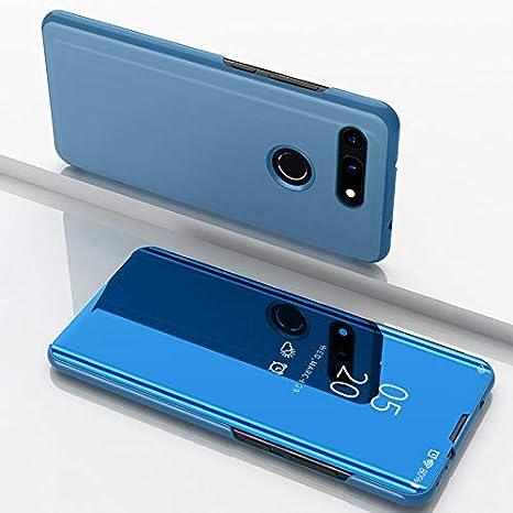 Funda® Espejo Enchapado Flip Huawei Honor View 20 (Cielo Azul ...
