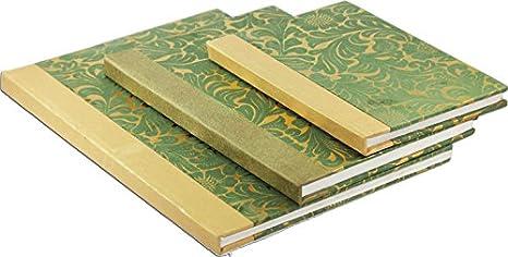 Amazon.com: brahmz hecho a mano papel reciclado Diaries ...