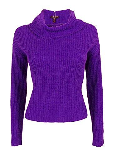 Eileen Fisher Petite Sweater - Eileen Fisher Women's Yak Wool Blend Sweater (P, Violet)