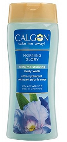 Calgon Morning Glory Body Wash 16 ounces (2 Pack) Sodium Chloride Moisturizing Body Wash