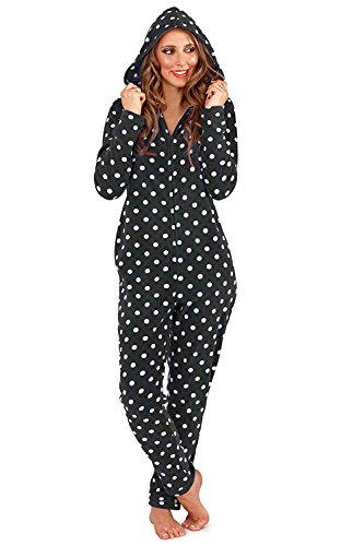 Donna loungeable Black Onesie Boutique POIS rfrqFx4