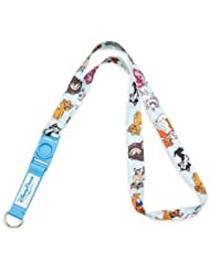 Disney Trading Pin Accessory - Deluxe Reversible Lanyard - Cats and Dogs