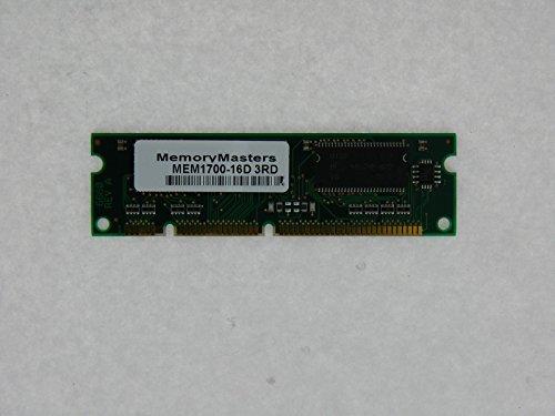 (MEM1700-16D 16MB MAIN DRAMFOR CISCO 1700 RAM Memory)