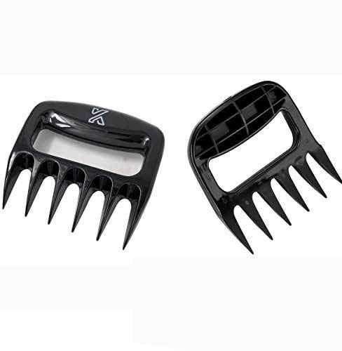 Bear Claws Pulled Pork Shredder Claws Barbecue Meat Claw-Shredding Handling & Carving Food,BBQ Tool, BPA FREE-Set of 2 KAPITAL HOME
