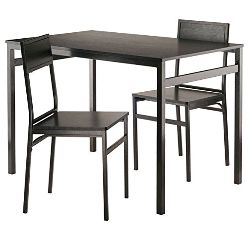 Milton 3-Pc Set Dining Table w/ Chairs