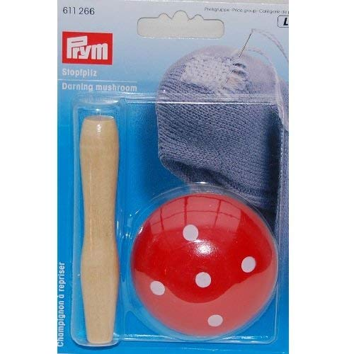 PRYM 611266 Darning mushroom, 1 piece