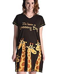 673e79d15d Women s Animal Pajama Nightshirt by LazyOne
