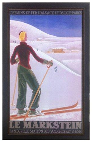 Amazon.com: Vintage Skiing Poster - \
