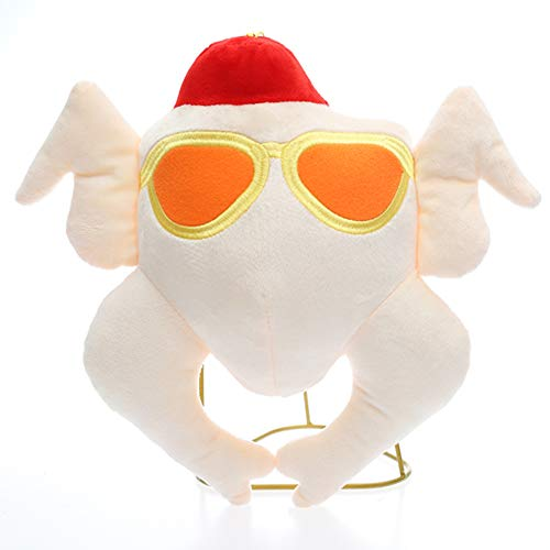 "kunqi trade Thanksgiving Christmas Turkey Toy Plush Toys 11"" Cute TV Friends Plush Doll Joey"