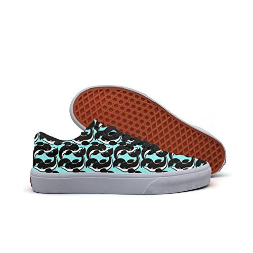 Small Whale Women's Casual Sneakers Shoes Skateboard Athletic News Designer