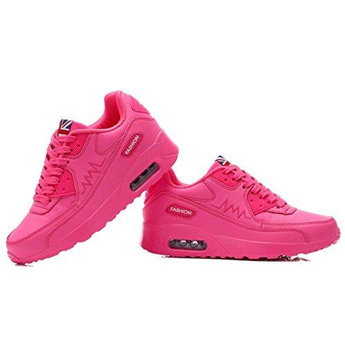 Pink Women's Jogging Padgene Trainers Sports Ladies Running Air Shoes Sneaker Girls Running Trainers Max xZwRqZ