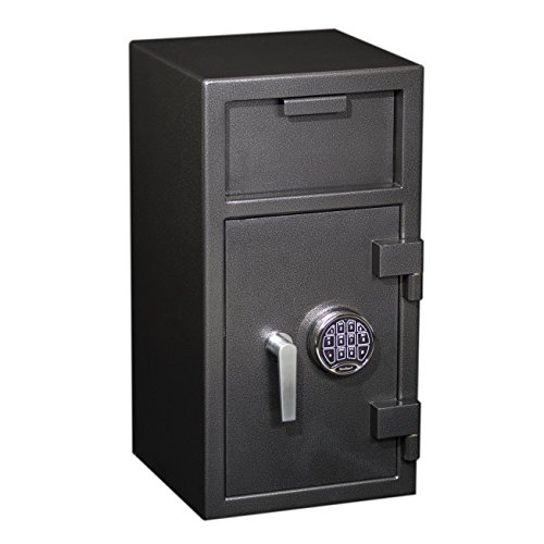 Front Loading Deposit Safe (FD-2714 Protex Front Loading Depository Drop Safe w/ Electronic Lock)