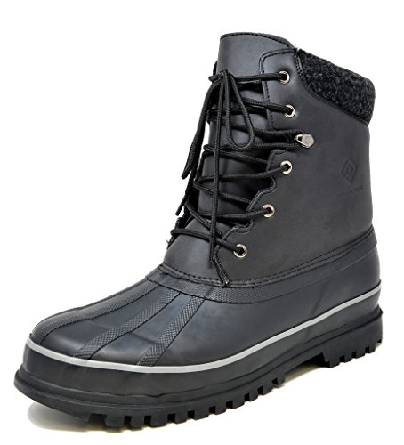 DREAM PAIRS Men's Insulated Waterproof Winter Snow Boots