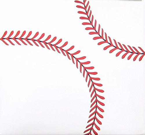 Darice 12-5003 Baseball Themed Scrapbook, 12 by 12-Inch by Darice