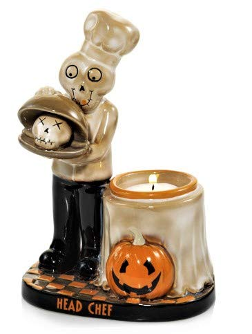 Yankee Candle Boney Bunch Head Chef Votive Candle Holder
