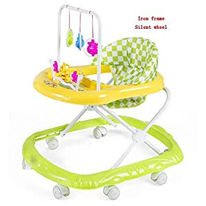 YUMEIGE Andadores Andador, rueda de silencio, Andador para bebé ...