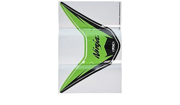 Factory Effex 15-93122 Windscreen Graphic Kit for Kawasaki Ninja ZX-6R
