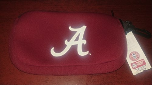 Kolder Neoprene Zippered Grab Bag or Electronic Cable Bag - University of Alabama (Crimson Tide) (Officially Licensed Collegiate Products)