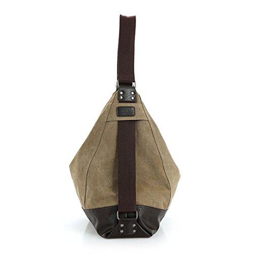 Shoulder Bag Tote Khaki Women Hobo Bag Vintage Casual Women's Bags Crossbody Buckets Designer Messenger Canvas Handbags xU7qnOn