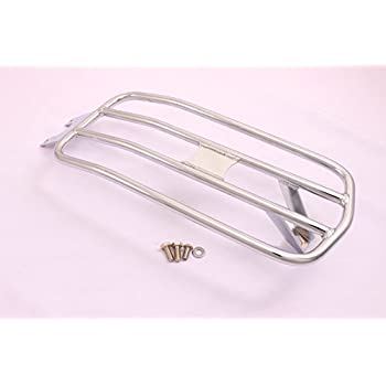 Amazon Com Indian Scout Solo Luggage Rack Chrome