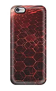 Durable Defender Case For Iphone 6 Plus Tpu Cover(hexagon)