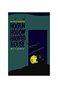 """Hootin Hollow Haunted House"" Print (Canvas 12x18)"