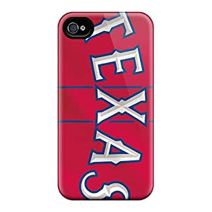 Bumper Hard Phone Cases For Iphone 4/4s (rrG6666xTpB) Custom Vivid Texas Rangers Pictures