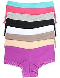 Youmita Lace Trim Plus Size Panties
