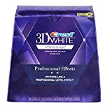Crest 3D White Professional Effects Whitestrips Whitening Strips Kit, 22 Treatments, 20 Professional Effects + 2 1 Hour...