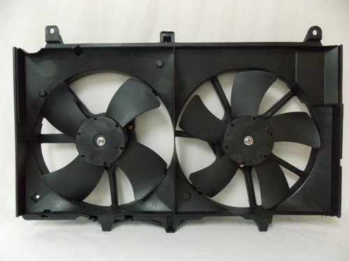 RADIATOR CONDENSER COOLING FAN FOR INFINITI NISSAN FITS 350Z G35 NI3115127