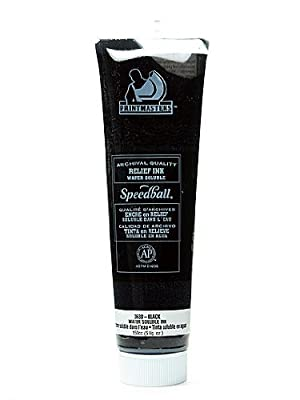 Speedball Printmaster Relief Ink & Mediums black 5 oz.