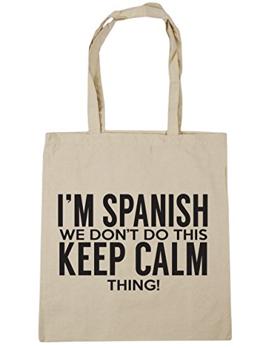 we do Bag don't thing HippoWarehouse Beach Tote litres I'm 42cm calm 10 x38cm Gym Shopping this keep Spanish Natural A4q4ExI1