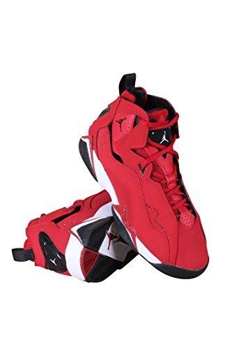 Nike 343795-610 : Kids Jordan True Flight Bg Gym Red/Black White Basketball Shoe (3.5 M US Big Kid, Varsity Red)