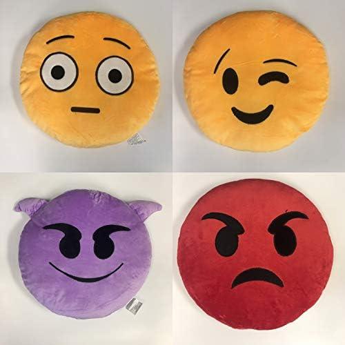 Amazon.com: Gloworks - Almohada de emoji de 12.0 in (25 ...