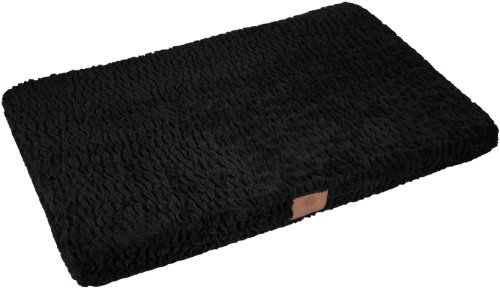 - American Kennel Club Orthopedic Crate Mat, 23 by 36-Inch, Black