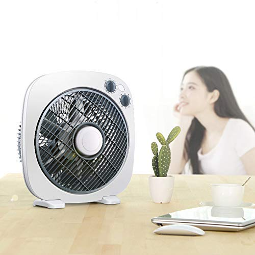 Gelaiken Desktop Fan Home Fan Desktop Fan Home Turn Fan Office Light Tone Fortune Student Fan Dormitory Mini Table Fan Table Desk Fan for Home and Travel by Gelaiken (Image #4)