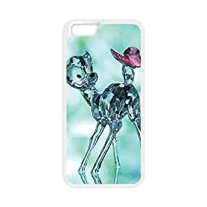 Bambi iPhone 6 Plus 5.5 Inch Cell Phone Case White VC14596N