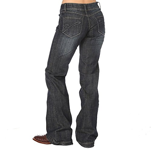 Co Stretch Denim Button Front (Stetson Women's Denim Trouser
