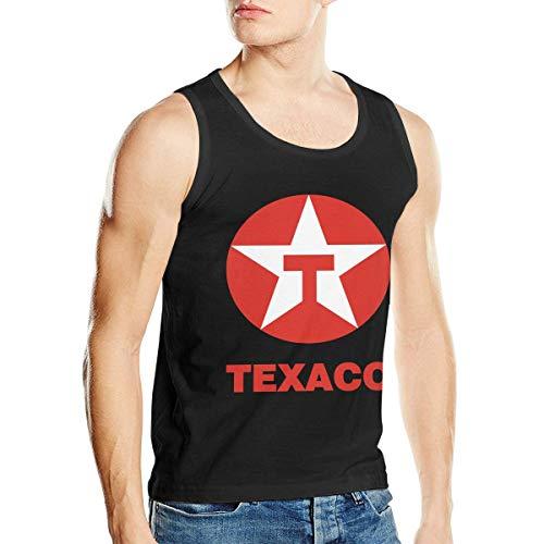 Tank Texaco - ChristieAHodge TEXACO Mens Soft Men's Tank Top Shirt Men's Vest XL Black