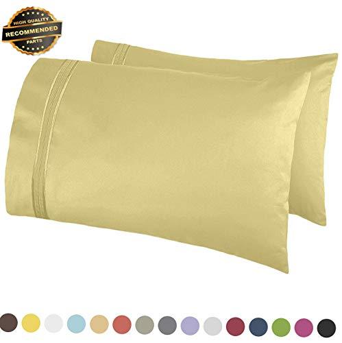 Gatton Premium New 1800 Pillow Case Set - Queen (Standard) or King - Set of 2 Pillow Cases! | Collection SHSCZ-18213492 -