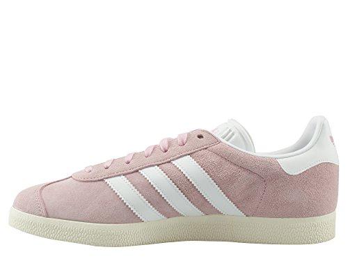 adidas Gazelle W, Zapatillas de Deporte para Mujer Rosa (Wonder Pink/footwear White/gold Metallic)