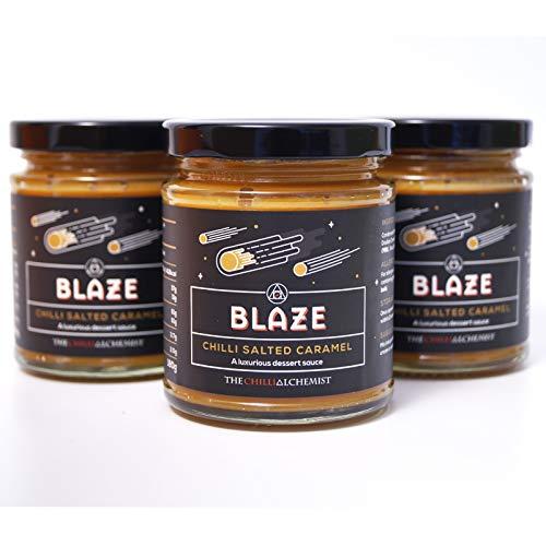 THE CHILLI ALCHEMIST Blaze, Chili gezouten karamel X 3, 540 ml