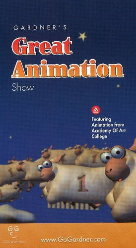 Gardner's Great Animation Show : A showcase of top students animation [VHS]